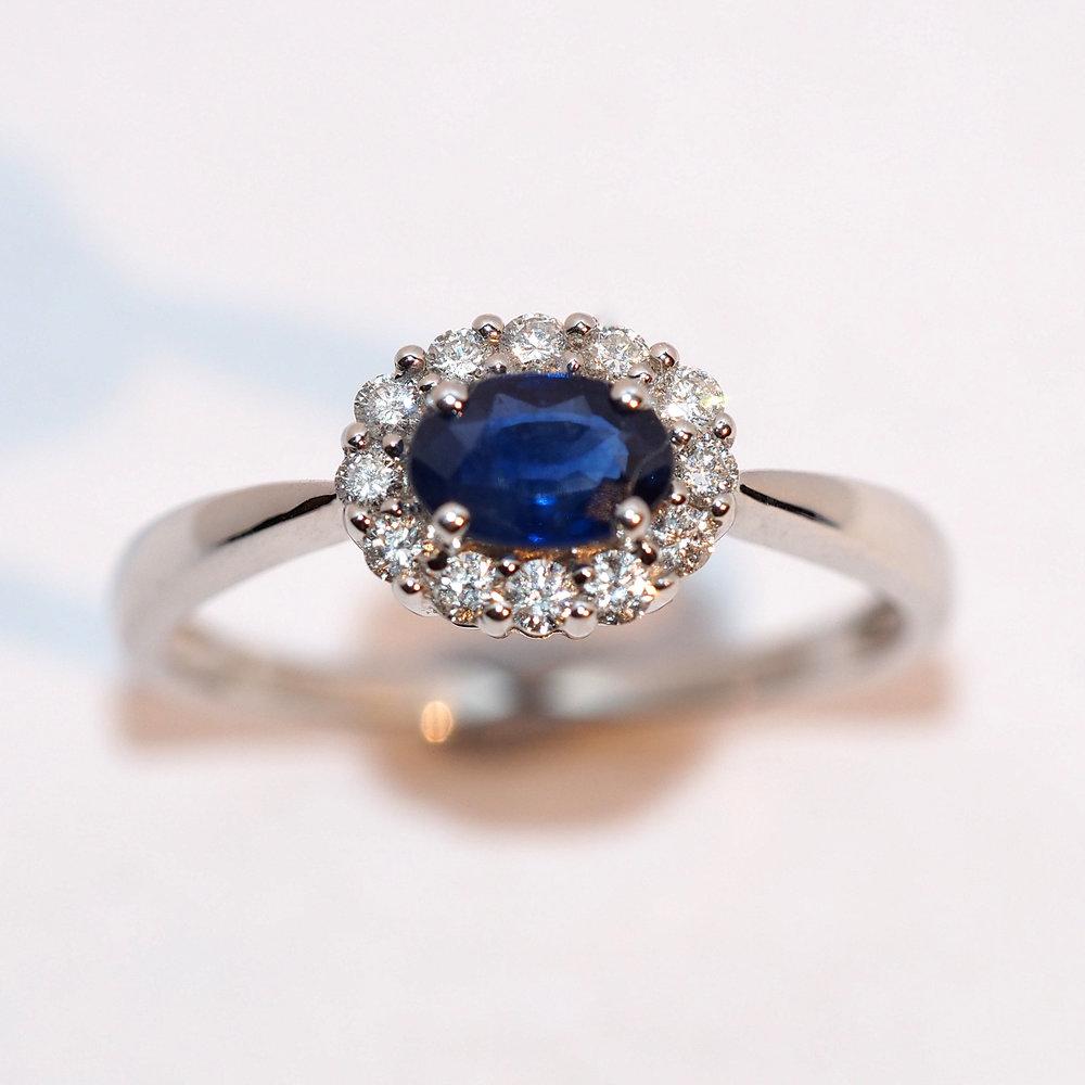 Sapphire - Shop Sapphire Engagement Rings