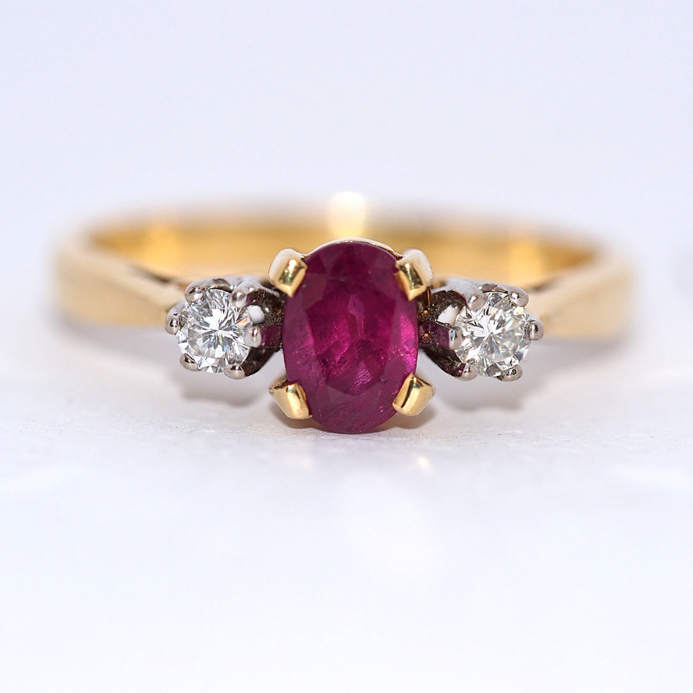 ruby - Shop Ruby Engagement Rings