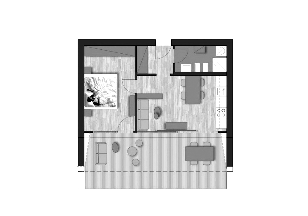 Comfort - with balcony