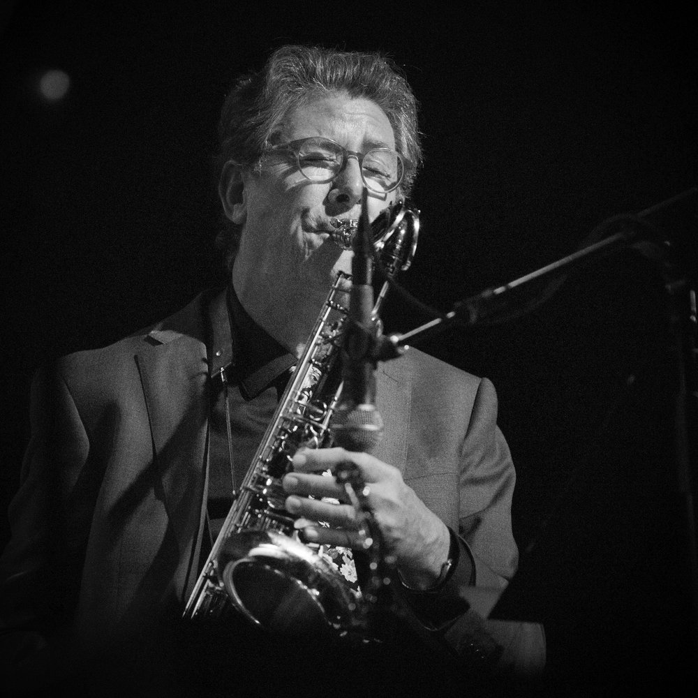 Saxaphonist Fred Haas