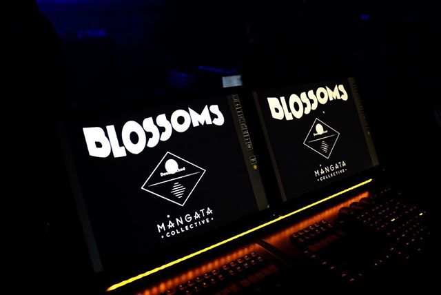 Preproduction complete! Looking forward to the start of tour next week. @blossomsband