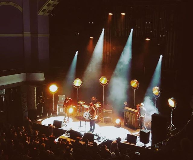 Bill Ryder - Jones live at @liverpoolgrandcentralhall  Designed/Opped: @pyrvlis  Supplied: @lumen_productions_ltd  Photo: @zakwhite93