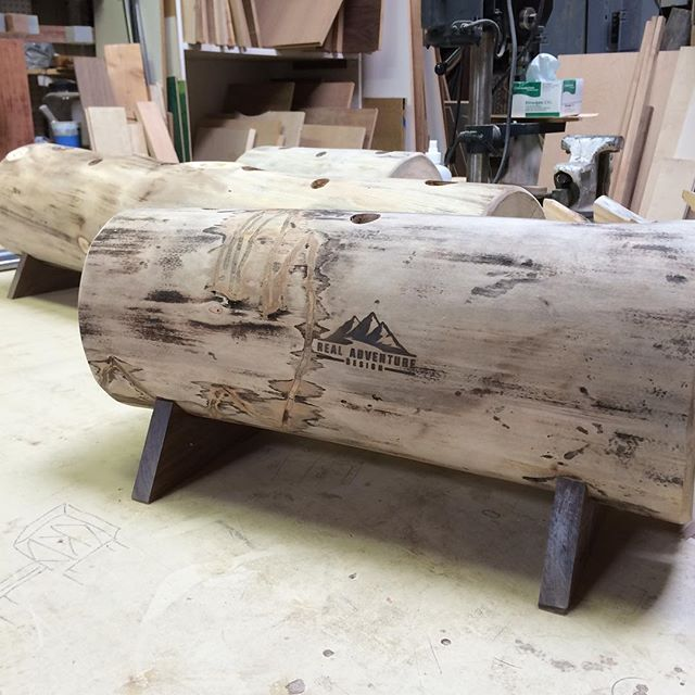 Boot dryers ready for the next step in life! #RADicallyorganized #realadventuredesign #mountainart #handmade #madeintheusa #logart #dryfeet