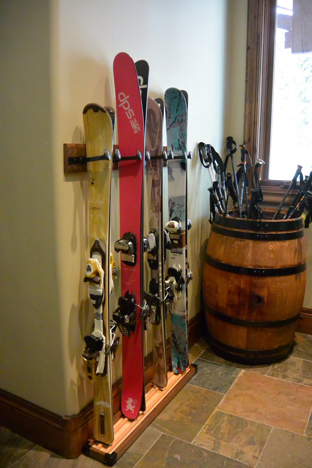 Your skis look great and your floors are dry!