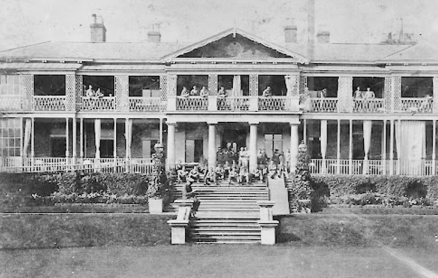 Hanworth Park House being used as a hospital during WW1