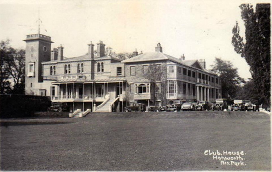 The Club House in Hanworth Air Park in the 1930s