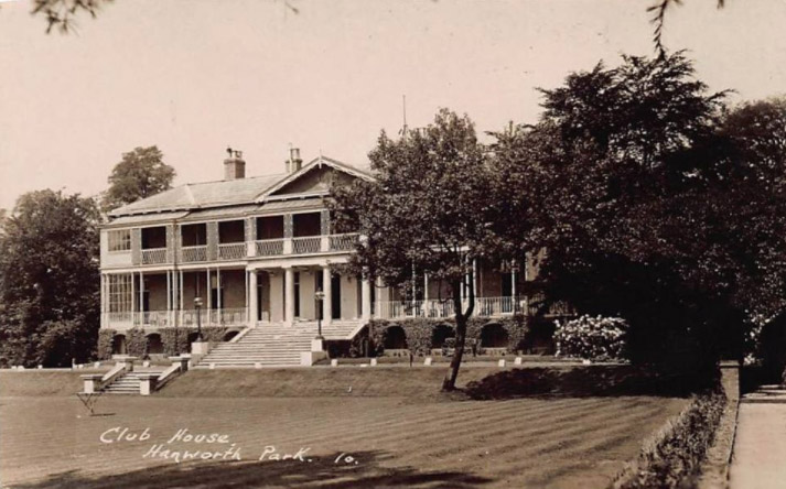 Hanworth Park House, when it was a club and hotel.