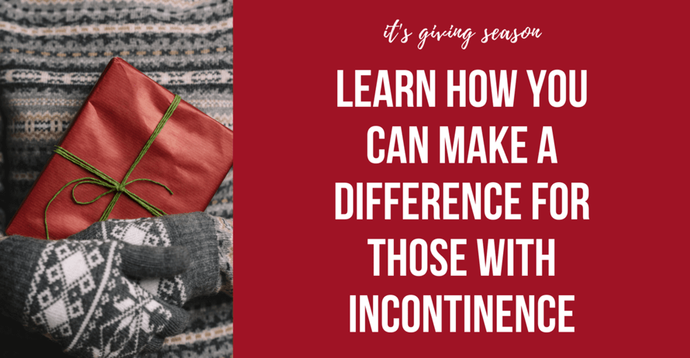 Learn How To Make A difference For Those With Incontinence