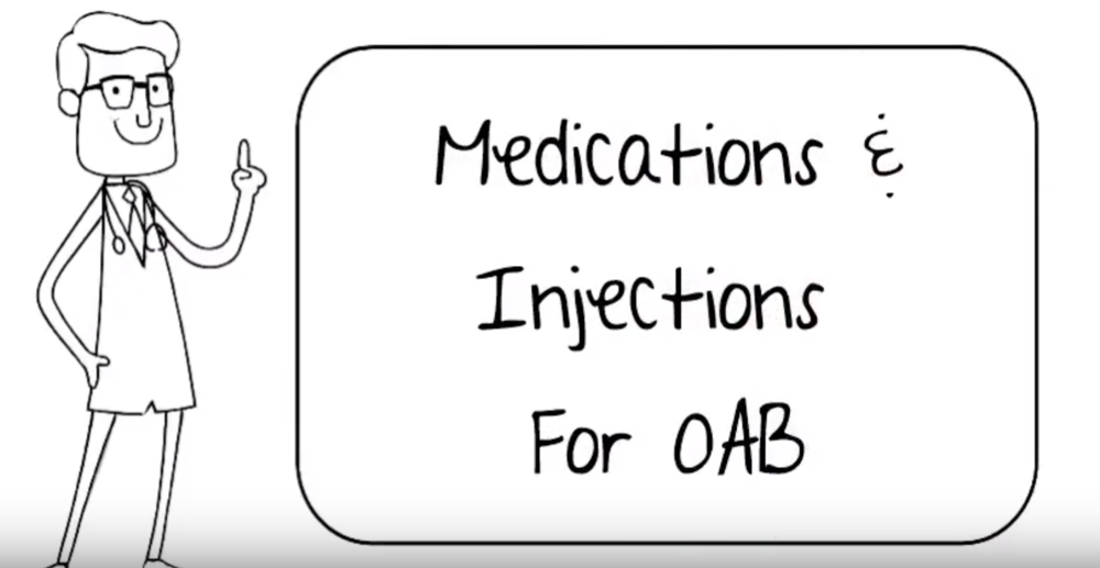 Treating Overactive Bladder With Medications Or Injections
