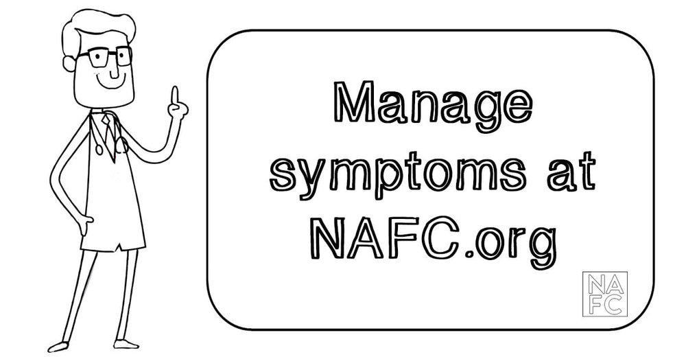 Learn tips to manage your incontinence symptoms at nafc.org