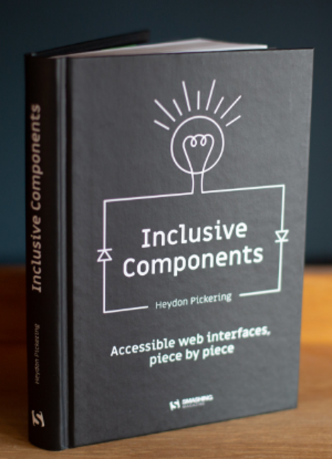 Accessibility Book Review: Inclusive Components by Heydon Pickering