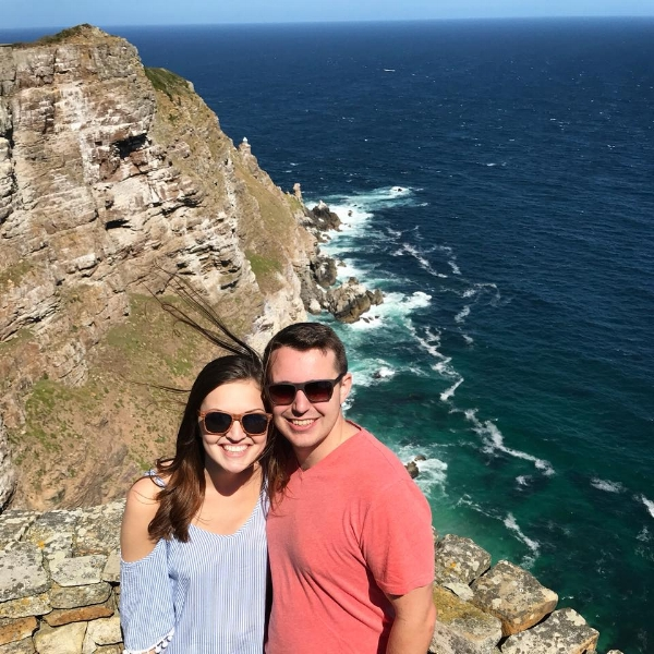 Cape of Good Hope, where the Indian ocean meets the atlantic