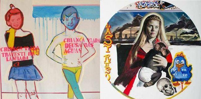 Veja aqui  as obras criticadas e as explicações dadas pelos artistas da exposição Queermuseu.