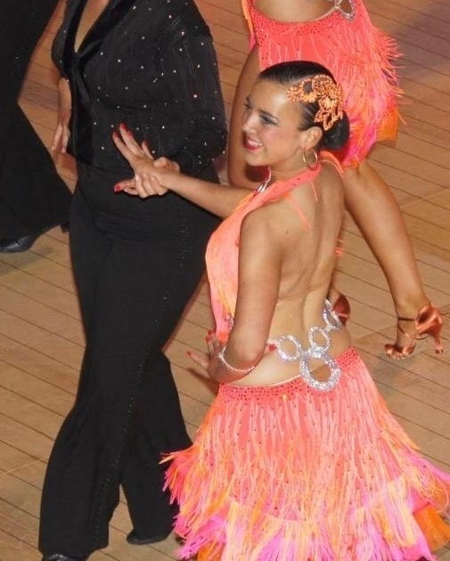 Dancer. - Yes, yep. This is me.I trained and competed in Latin & Ballroom dancing for ~about~ 11 years and just like any other little girl that took dance lessons, I very much used to dream that it would become my career, one day.However, I realised quite quickly that I hadn't started training early enough, and I wasn't the correct body shape either. Sadly, I had to give it up when I started my accountancy job as the hours were too long and I was missing too many training sessions. :(