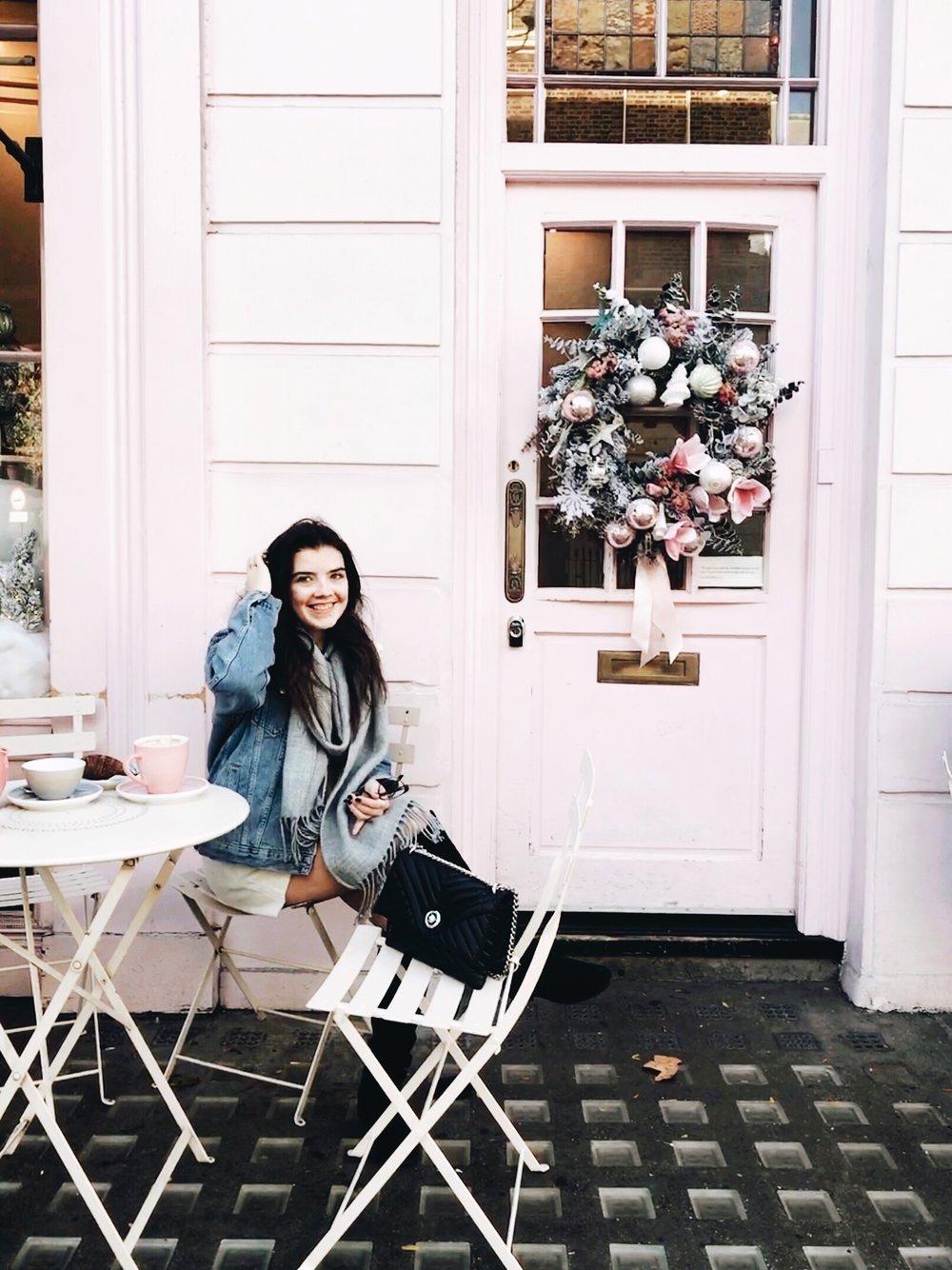 Peggy Porschen Cake Shop London Christmas
