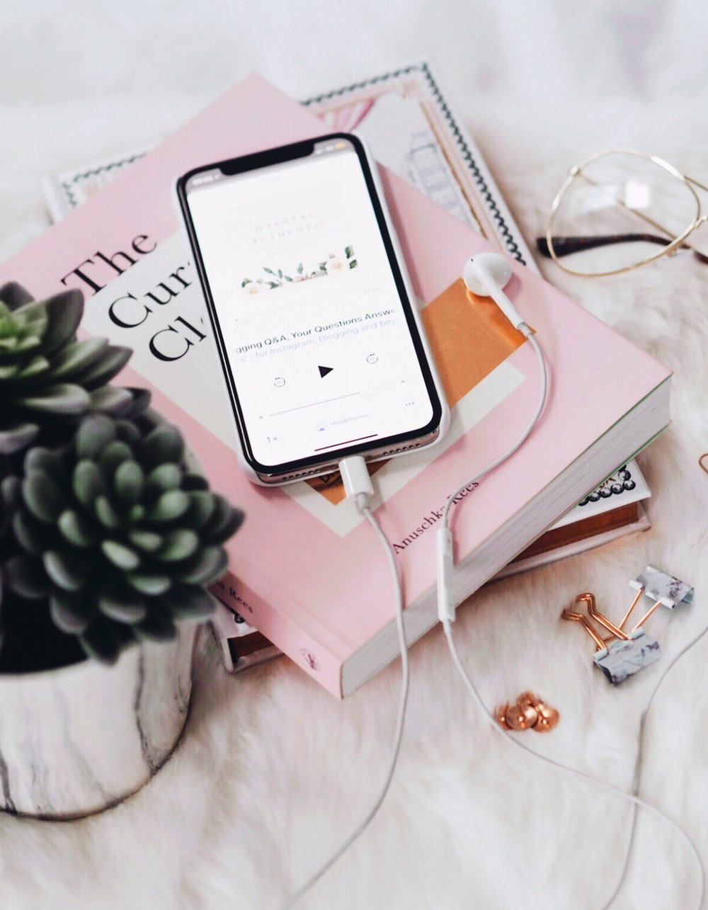 My favourite podcasts for all of the creative, career & life inspiration you need. -