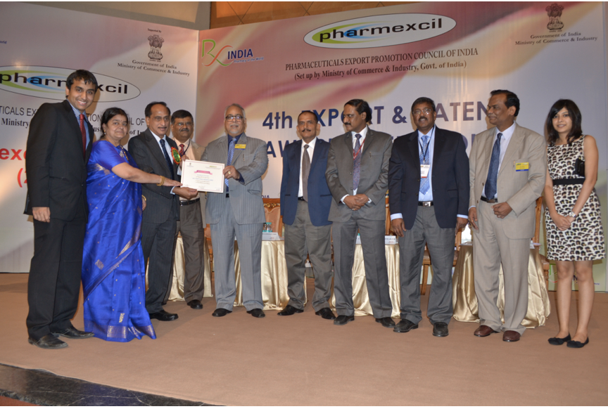 2011-12 Pharmexcil Patents Award