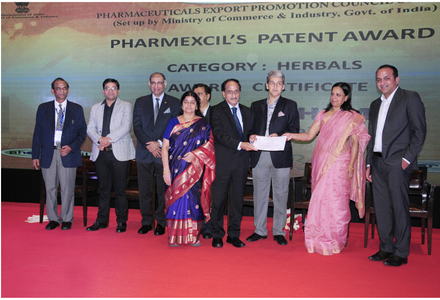 2015-16 Pharmexcil Patents Award