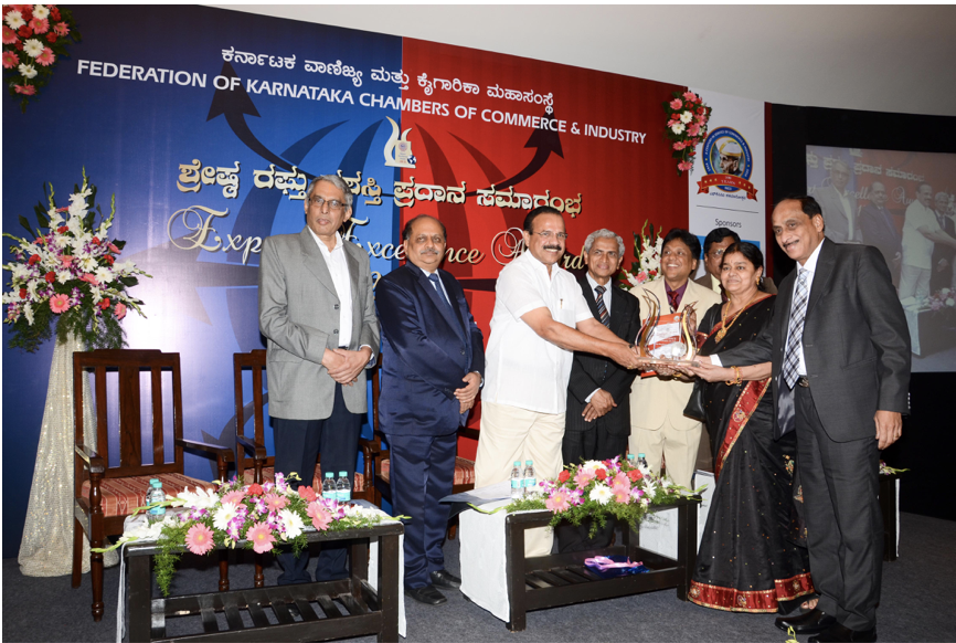 2015 FKCCI Gold Export Excellence Award