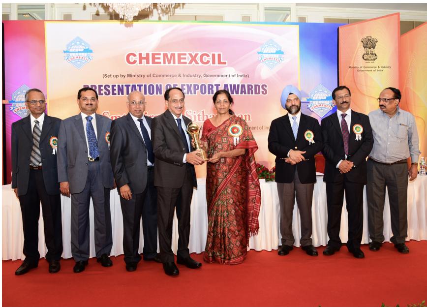 2014-15 Chemexcil Gold Award
