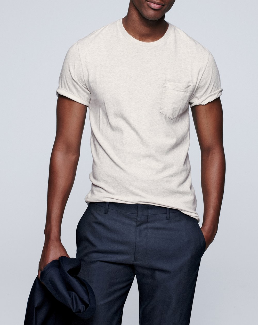 """3. J.CREW BROKEN-IN T-SHIRT - You guys know I'm all about simplicity. These """"Broken-in"""" t-shirts from J. Crew is absolutely that. My go-to basic tee, they are great wardrobe must- have for an everyday look. Oh, and did I mention they are insanely comfortable?"""