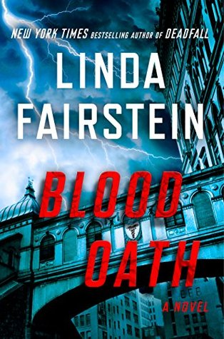 Blood Oath by Linda Fairstein book cover image.jpg