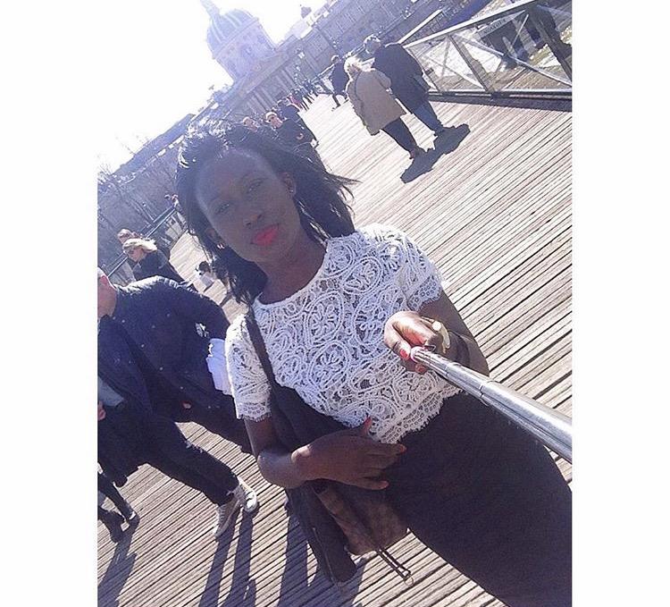 Me at the Love Lock Bridge...