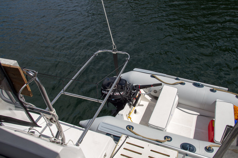 Swing-Lift on Hunter 356