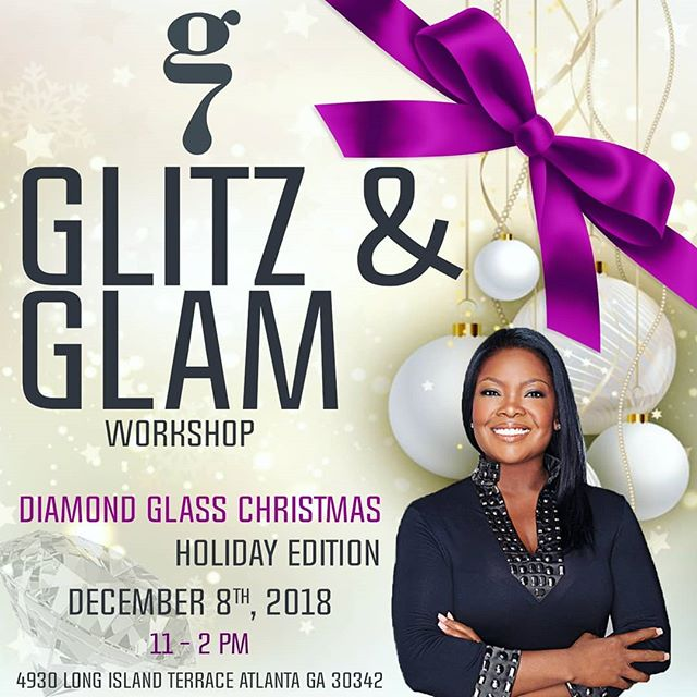 Tobey Renee @thefauxpro is at Art Gallery Seven teaching a Dimond Glass.  Join us to learn how to apply glass to your next art project.  Glitz & Glam! Holiday Edition Christmas Class 🎄🎁🎋 with Toby Renee @thefauxpro Come learn how to create faux finished holiday accessories with Toby Renee at Art Gallery Seven!  RSVP today! Link in Bio  December 8th, 2018  11 to 2 p.m.  #fineart#art#abstractart#contemporaryart#artwork#atlantaart #artistsoninstagram#artist#contemporaryartist #artiststudio#atlantavenues#collectart#artbuyers#artforsale#curate#artgalleryseven#gallerysevenfineart#gallerysevennewlook#artgallery#gallerylife#grind#girlpower  @brendajoyce7  @artgalleryseven @itsleash