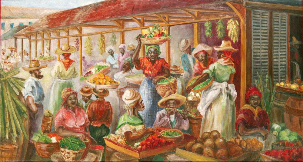Jean Mcnab, Market Scene