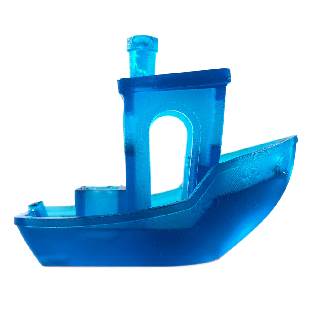 <center><h3>Translucent Blue</h3><strong> Lyer Height Options</strong><br/>  100, and 50 microns</center>