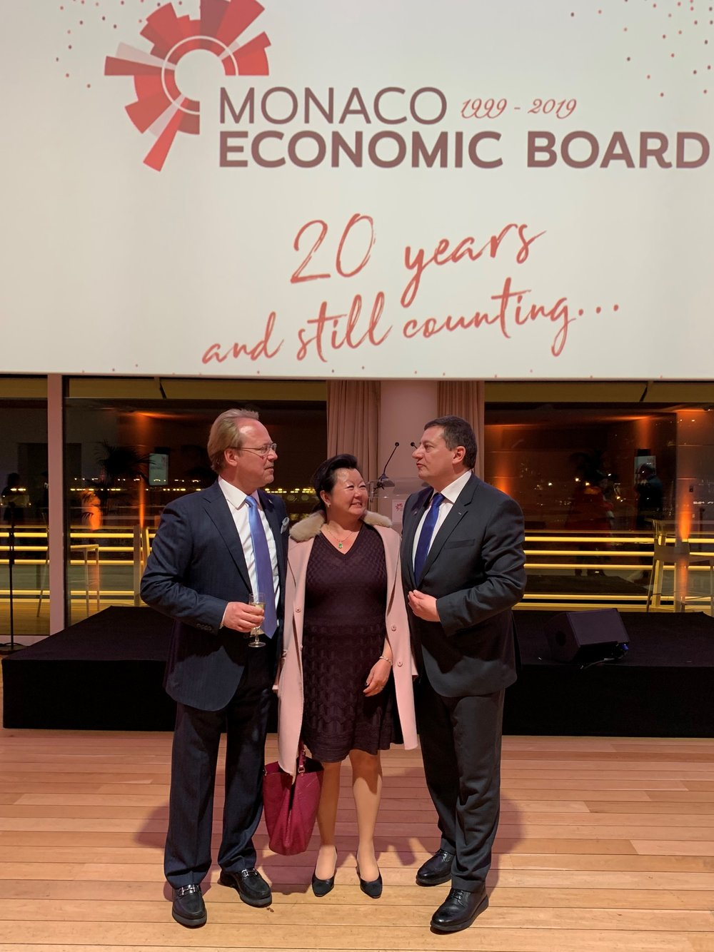 Monaco Economic Board 20th anniversary - new MEB CEO Guillaume Rose.JPG