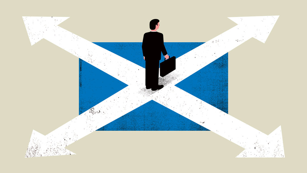 Will Firms Leave After Scottish Referendum?
