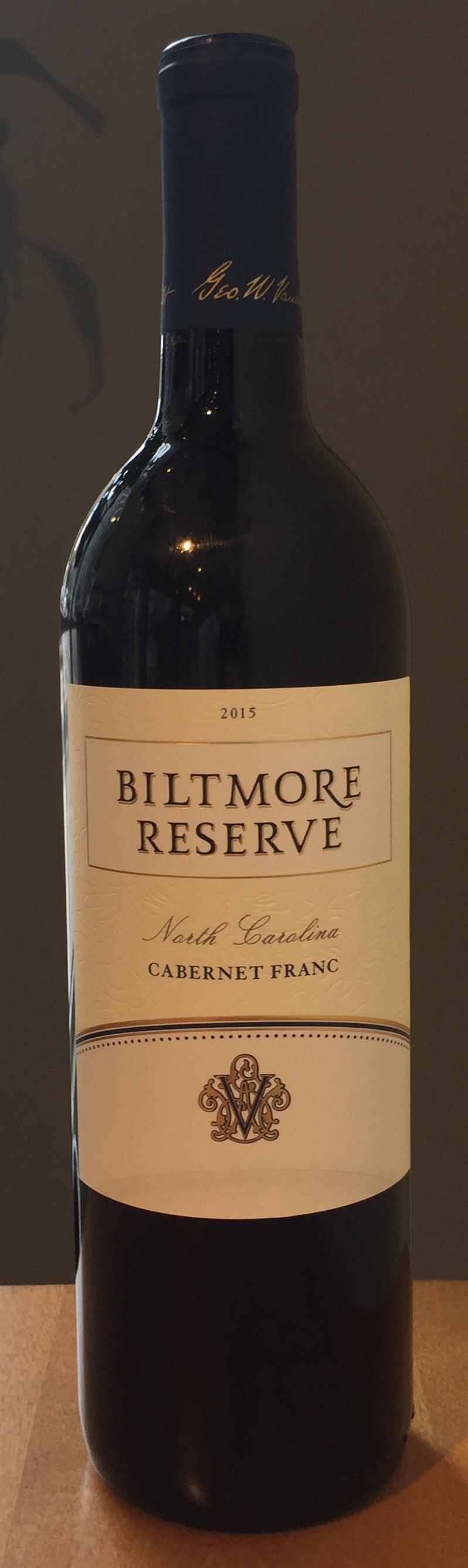 Biltmore Estate Reserve Cabernet Franc