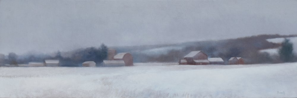 """Syracuse Farm in Winter"""
