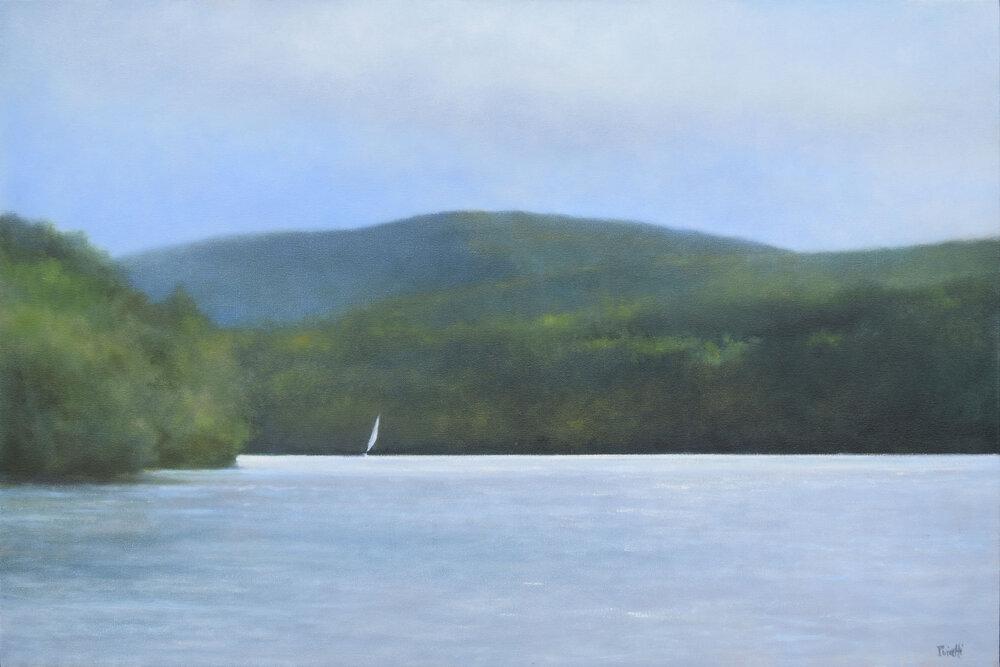 Hudson River from Garrison's Landing