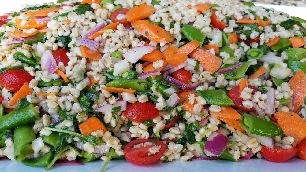 Springn Barley Salad
