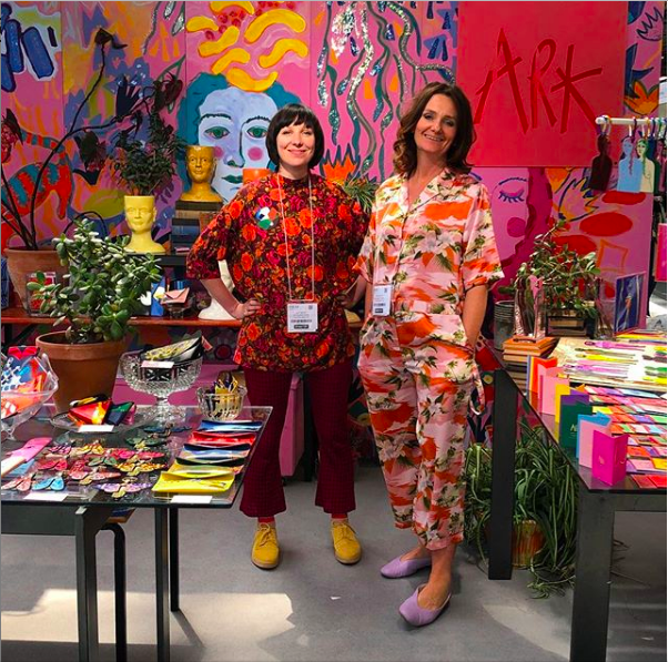 Amy & Jane - Founders of Ark Colour DesignPhoto: @arkcolourdesign