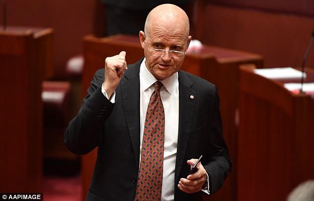 Liberal Democrats senator David Leyonhjelm introduced the bill to legalise recreational marijuana