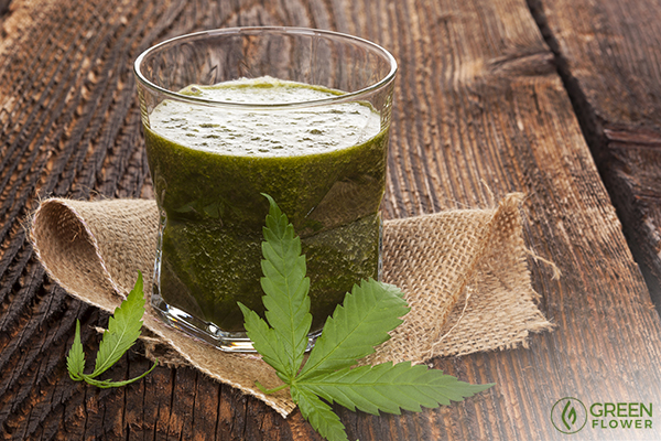 Juicing cannabis could be your ticket to great health!