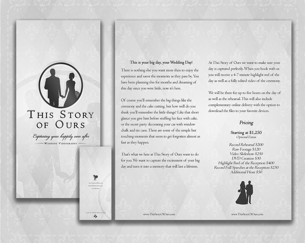This Story of Ours Brochure