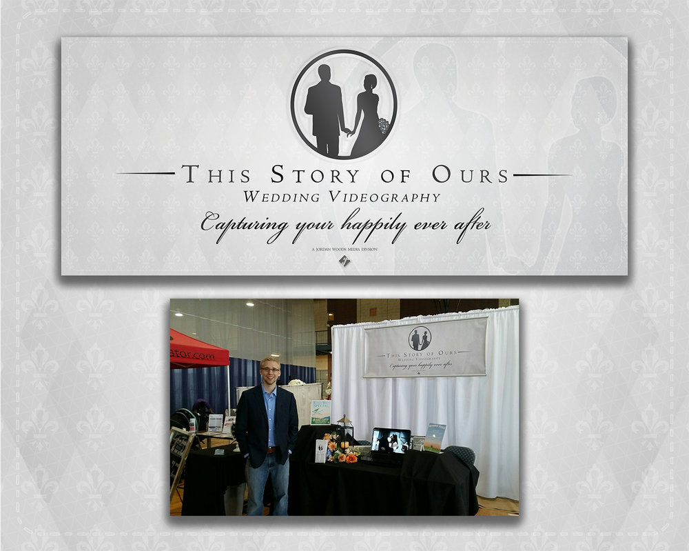 This Story of Ours Trade Show banner