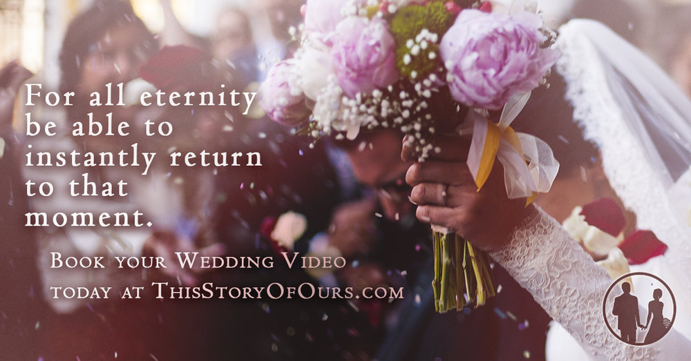 "This Story of Ours Facebook Ad ""For All Eternity"""