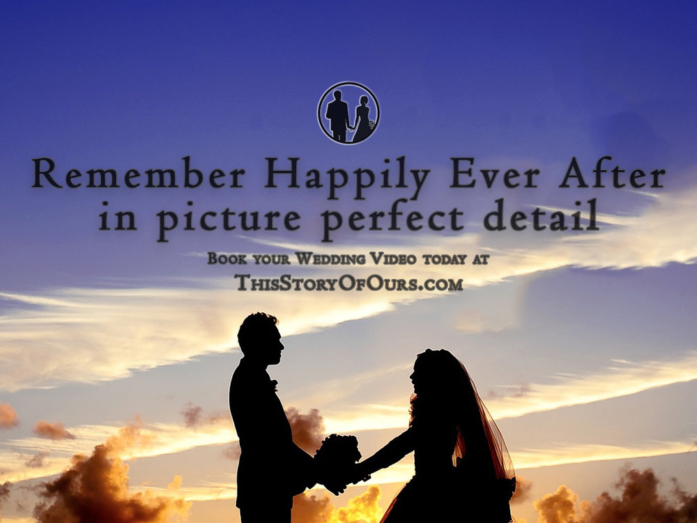 "This Story of Ours Facebook Ad ""Remember Happily Ever After"""