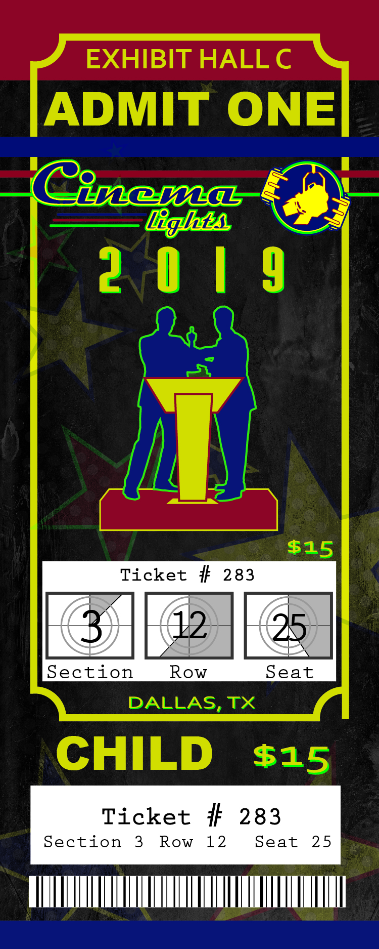 Ticket Design Front