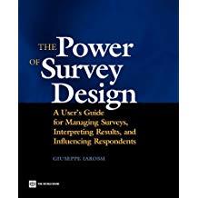 The Power of Survey Design - Giuseppe Iarossi