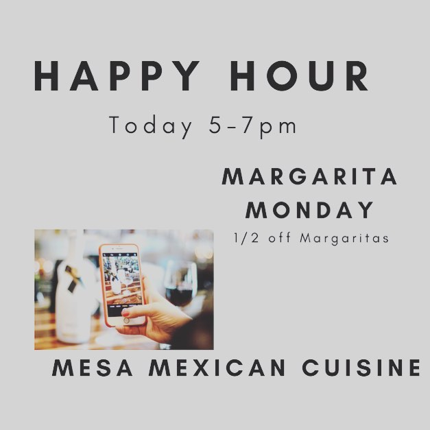 #happyhour #margaritamonday #spicymargarita #mesagrapevine
