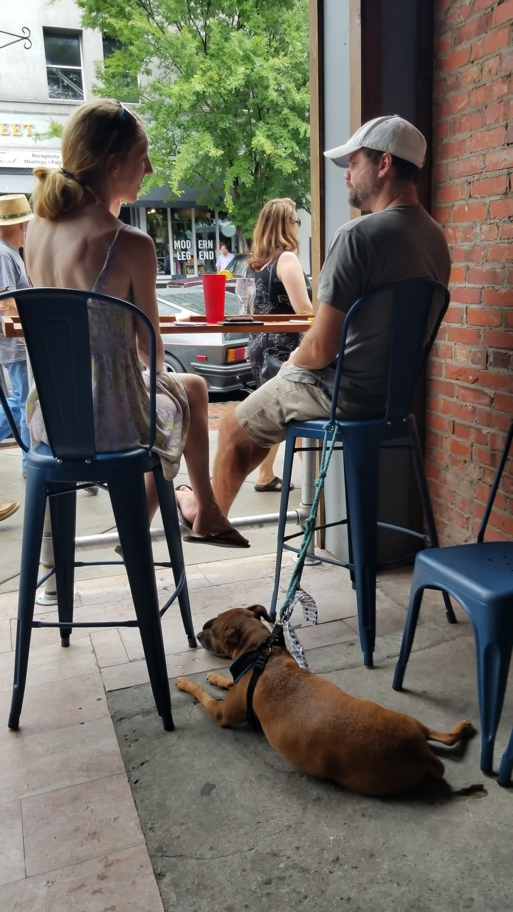 Outdoor Seating and Dog Friendly When Possible
