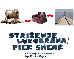 Opening 'Pier Shear' Project- Rijeka, Croatia - Pier Shear - Rijeka, Croatia April - June 2012I will be in Croatia this spring building a new community project called Pier Shear which introduces seven sheep to live on the main shipping pier of Rijeka, so that the wool from the sheep can be transformed into new artworks and installed on the pier by local artists and craftsman aimed at revealing the complexity of Rijeka's transitioning future. Opens Saturday April 21st at the end of the pier in Rijeka