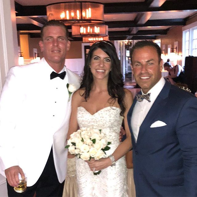 Celebrating with Matthew and Joelle on their Wedding! ❤️#djmcent #njweddings #weddingday #dancefloor #djmcmoments #njdjs